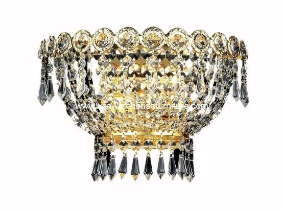 2 Lights Wall Sconce Chandelier 1900 Century Collection