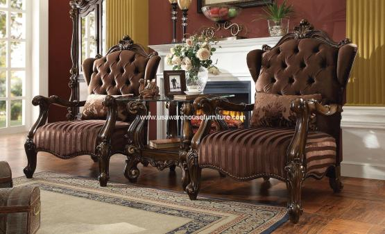 3 Piece Versailles Accent Chair