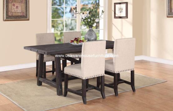 5 Piece Yosemite Solid Wood Dining Set