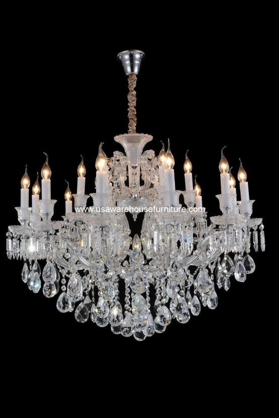 Michael Amini 25 Light Chambord Chandelier