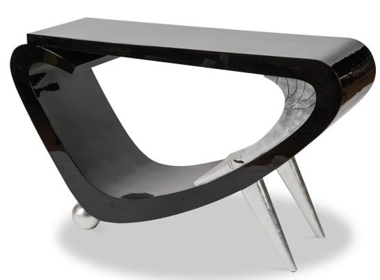 Illusion Accent Console Table