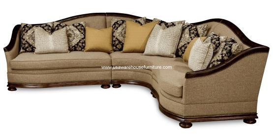 Esperanza Upholstered Sectional Set