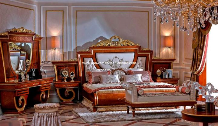 Empire European Luxury Bedroom Set
