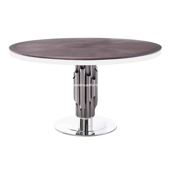 Aria Dining Table Grey Oak