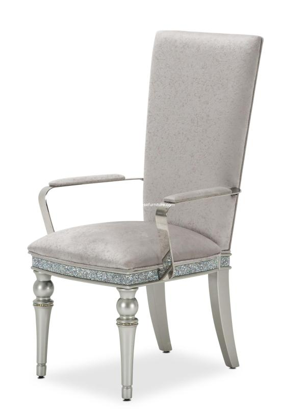Michael Amini Melrose Plaza Dining Arm Chair