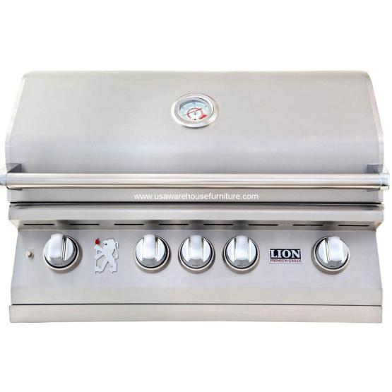 Premium Grills 32 Lion - L75000 Stainless Steel
