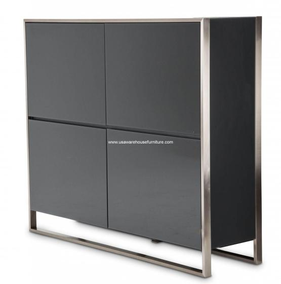 Metro Lights 4 Doors Accent Cabinet