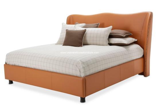 21 Cosmopolitan Orange Wing Bed