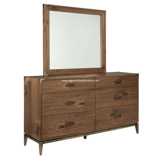 Adler 6 Drawer Dresser