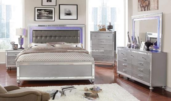 Brachium Modern Led Bedroom Set