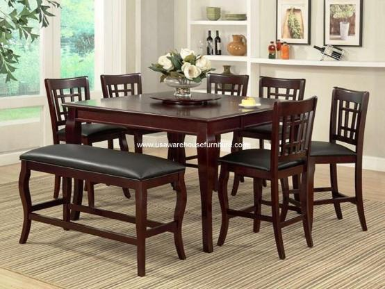 6 Piece Morgan Counter Height Dining Set