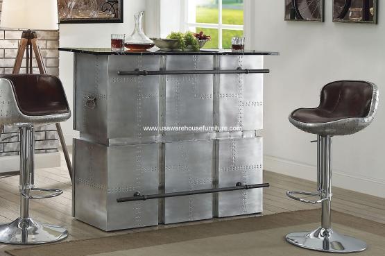 Brancaster Aluminum Bar Table