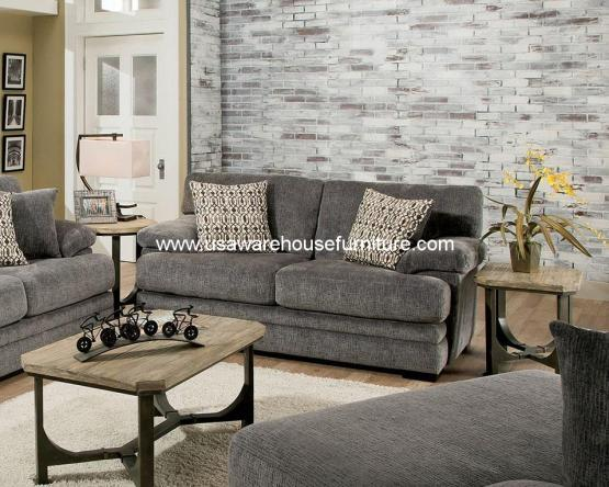 Abrianna Gray Loveseat