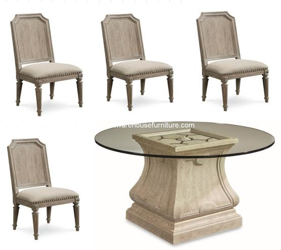 Arch Salvage Dining Set