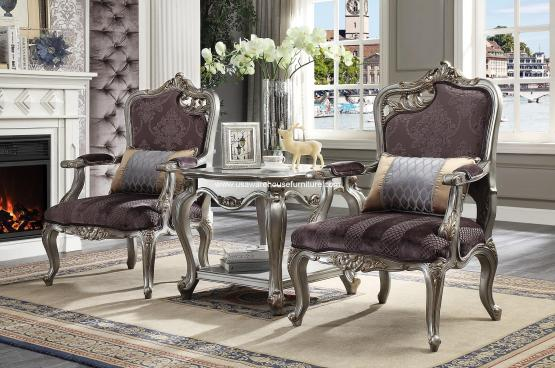 3 Piece Picardy Accent Chair
