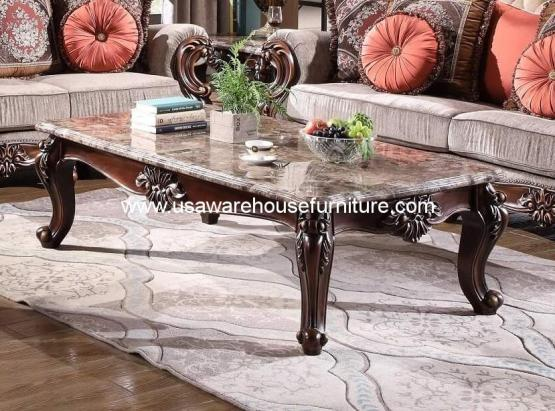 Mandeville Marble Top Cocktail Table