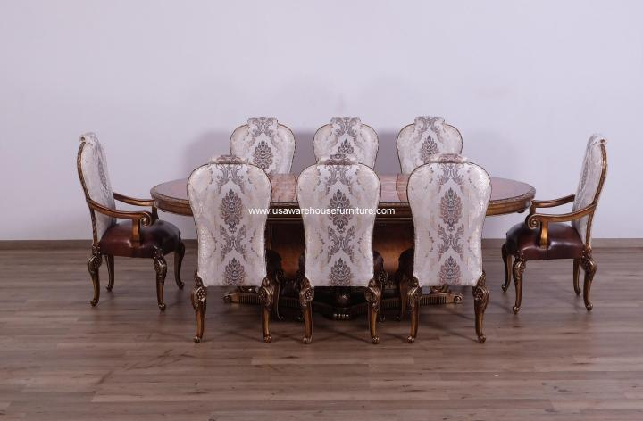 Bellagio Extendable Formal Dining Set