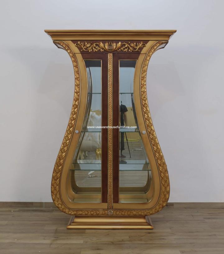 Valentina 2 Door Curio Cabinet