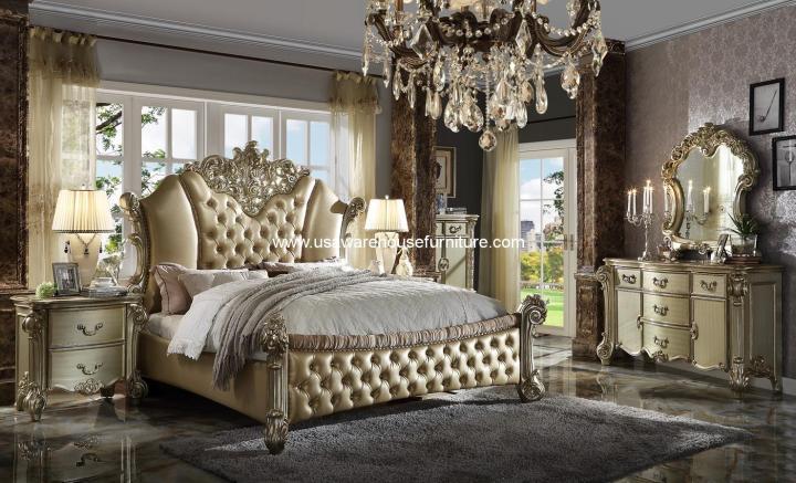 4 Pieces Vendome II Bedroom Set