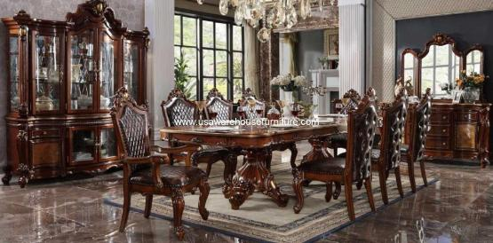 Picardy Extendable Dining Set