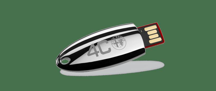 USB metaal chrome 1