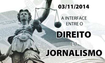 Evento 'A Interface entre o Direito e o Jornalismo' tem inscrições abertas