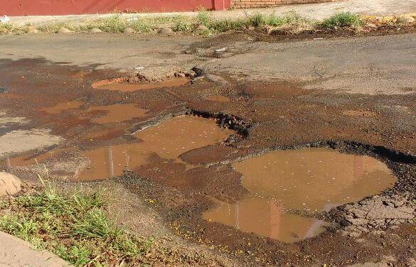 Bauru conta com 70% do pavimento no final da vida útil