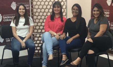 Alunas da USC debatem violência contra a mulher no Instagram