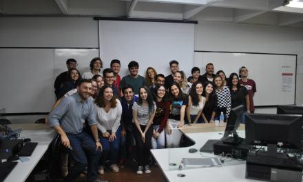 Jornalista do JC participa de atividade na USC