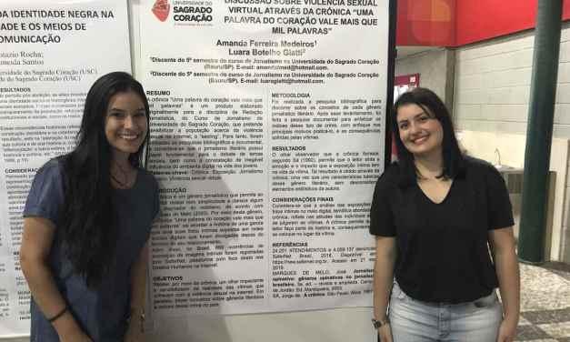 USC realizou exposição de trabalhos acadêmicos de estudantes de comunicação