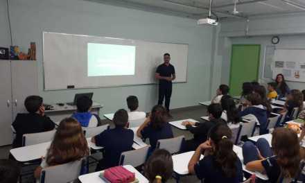 RP Comunica realizou palestra no Colégio Rembrandt COC Bauru