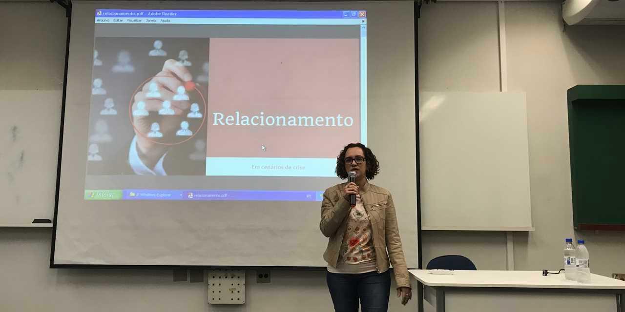 RP Comunica e cursos de RP e PP promoveram palestra sobre a comunicação em tempos de crise