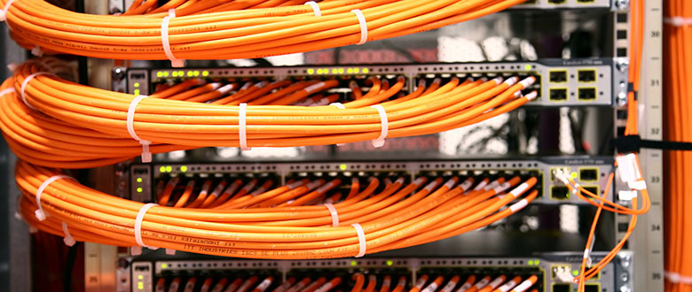 Santa Cruz California On Site Networks, Voice and High Speed Data Cabling Solutions