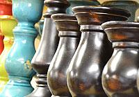 Pedestal Candle Holders