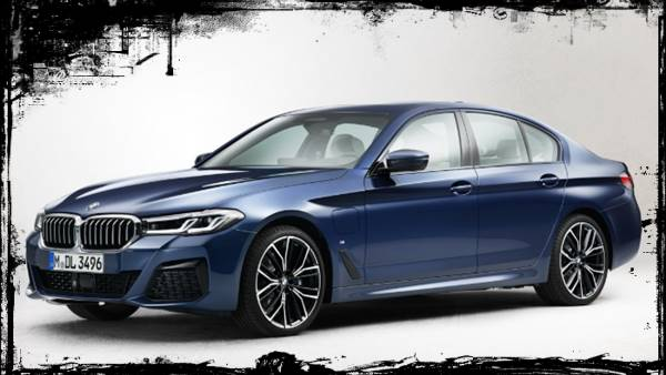 2021 BMW 5 Series Facelift Exterior