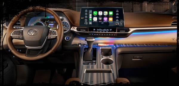 2021 Toyota Sienna Interior Redesign