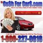 Cash For Cars 1-800-227-9016