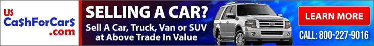 1-800-227-9016   CASH FOR CARS, SELL A CAR, JUNK A CAR