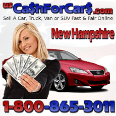 Cash For Cars New Hampshire NH Sell A Car