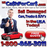 Sell Damaged Cars Trucks SUVs in the USA Today