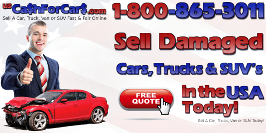 Sell Damaged Cars Trucks SUVs in the USA