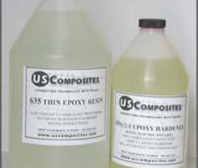 Epoxy With 31 Ratio Medium Epoxy Hardener Description