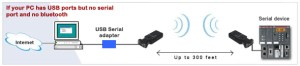 Bluetooth Serial Adapter RS232