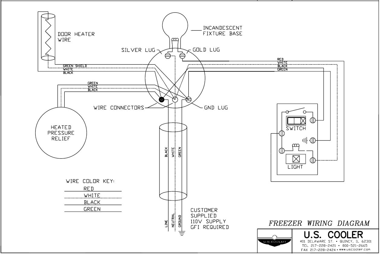 Basic Walk In Cooler Wiring Diagram