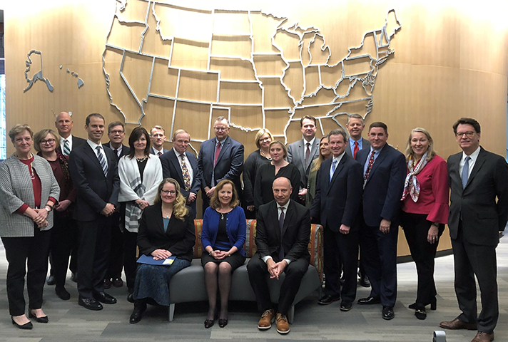 Image: Judges, Administrative Office officials and space managers from around the country gathered recently to celebrate the Judiciary's success in cutting work space by more than 3 percent over the past five years.