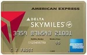 Gold Delta SkyMiles