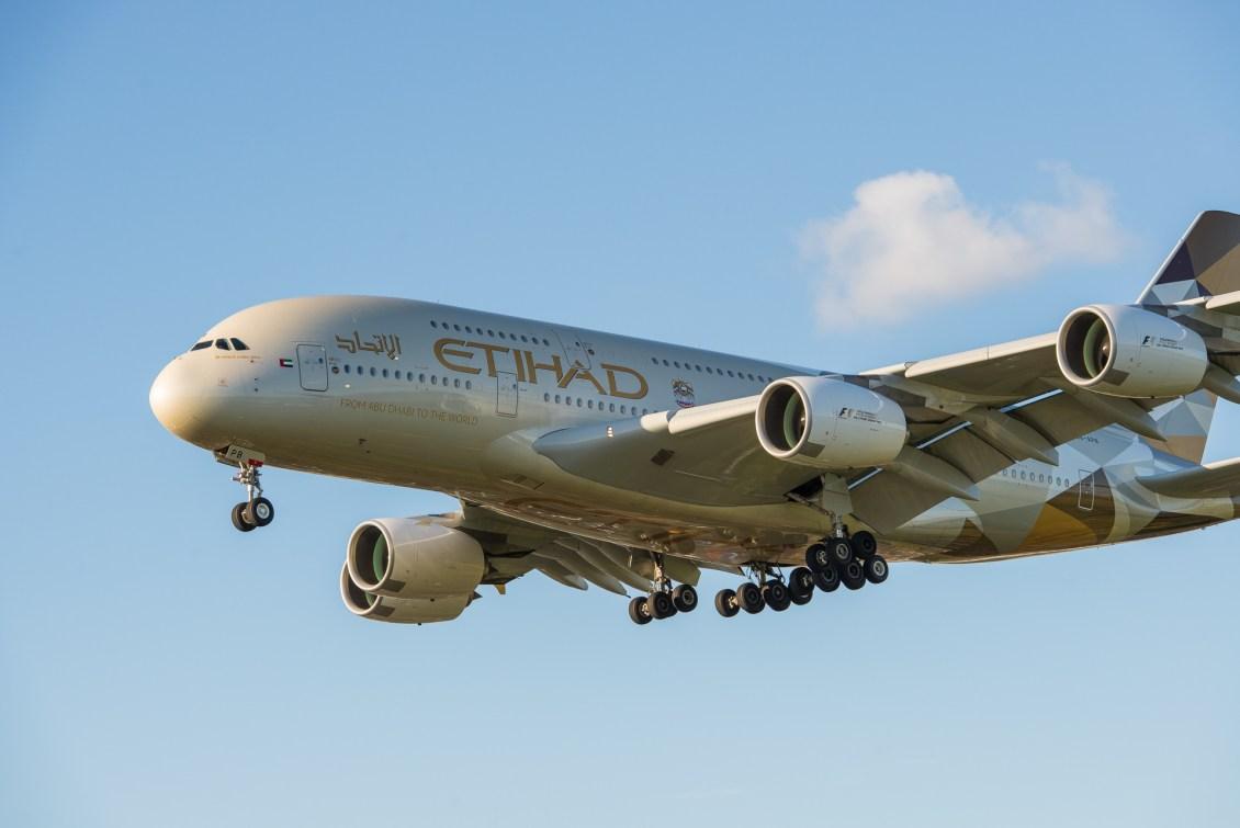 Etihad EY A380