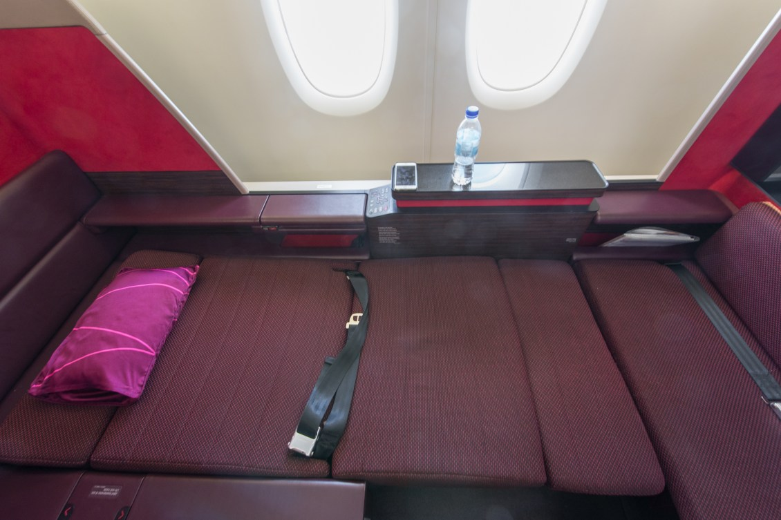 Malaysia Airlines A380 Bed