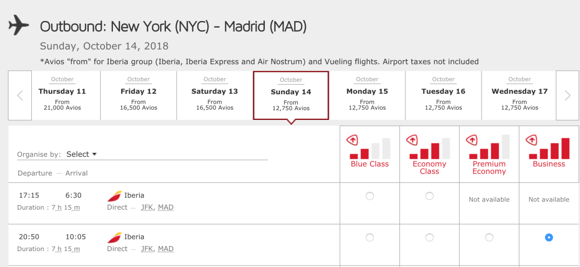 Fly business class one-way to Europe for 25K miles or ~$500 (March ...