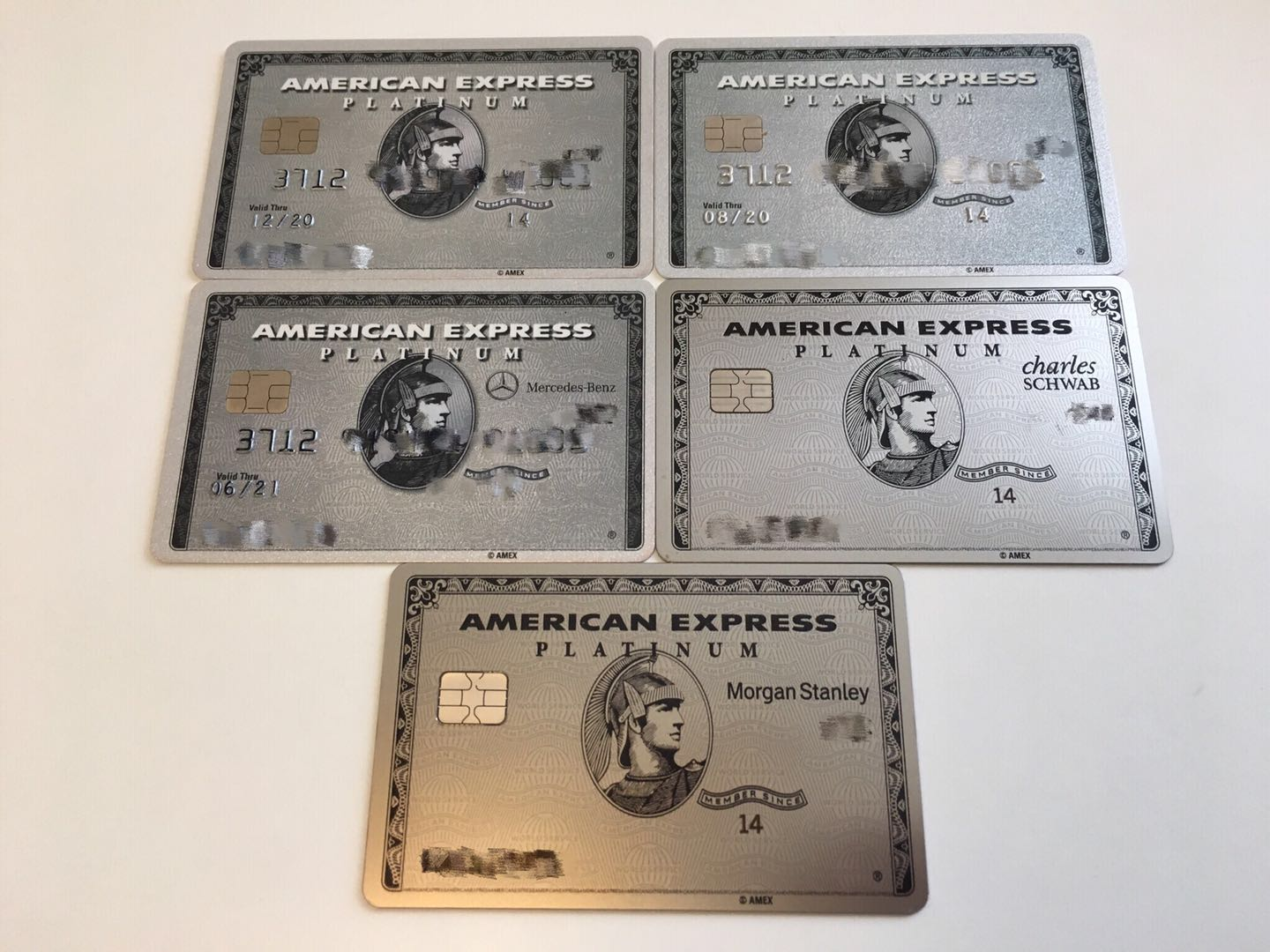 Comparing the Benefits of Different Flavors of AmEx Platinum
